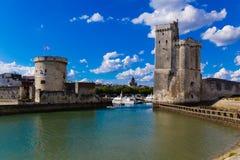 Porta La Rochelle Fotografia Stock Libera da Diritti