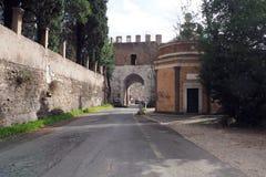 Porta Latina in Rome, Italy