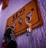 Porta llaves. Llavero Stock Image