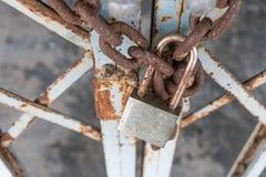 Porta Locked foto de stock