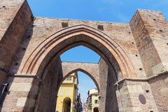 Porta Maggiore im Bologna lizenzfreies stockbild