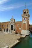 The Porta Magna at the Venetian Arsenal Royalty Free Stock Image