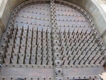 Porta majestosa na entrada Imagem de Stock