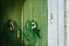 Porta maltesa tradicional Foto de Stock Royalty Free