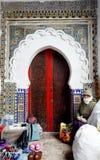 Porta marocchina fotografia stock