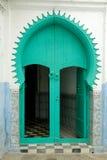 Porta marroquina tradicional Imagem de Stock