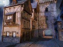Porta medieval ilustração do vetor