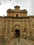 Porta medieval Imagens de Stock