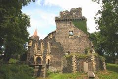 Porta medieval do castelo Fotografia de Stock