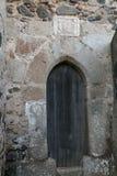 Porta medieval do sol e da lua Fotografia de Stock Royalty Free