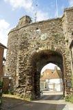 Porta medieval em Rye Fotos de Stock Royalty Free