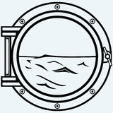 Porta metálica Imagenes de archivo