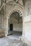 Porta in monastero nel Portogallo. Fotografie Stock Libere da Diritti