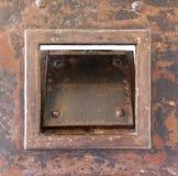 Porta muito velha da prisão Fotografia de Stock