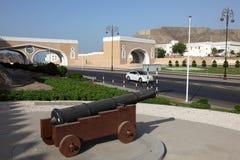 Porta a Muttrah, Oman imagens de stock
