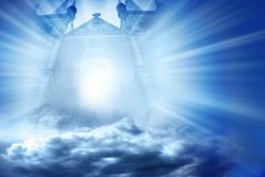 Porta Mystical Imagens de Stock