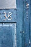 Porta número 38 Fotografia de Stock