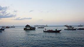 Porta na cidade de pedra, Zanzibar Imagem de Stock Royalty Free