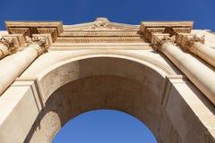 Porta Napoli in Lecce. Lecce, Apulia, Italy stock photography