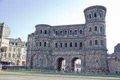 The Porta Nigra (Black Gate), Trier Stock Image