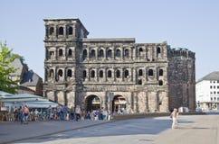 The Porta Nigra (Black Gate), Trier Royalty Free Stock Images