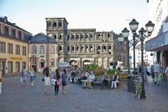 The Porta Nigra (Black Gate), Trier Royalty Free Stock Photo
