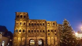 Porta-Nigra-Hannover-Nacht Stockfoto