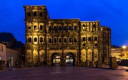Porta-Nigra im Trier, Deutschland Stockfotografie