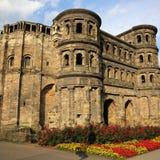 Porta Nigra. Roman Porta Nigra in Trier. Germany Stock Photo