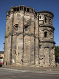 Porta Nigra at Trier. Side view of Porta Nigra at Trier, Germany's oldest city Stock Images