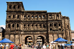 Porta Nigra in Trier Stock Photo