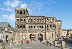 Porta Nigra in Trier on a beautiful day Royalty Free Stock Photography