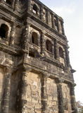 Porta Nigra, Trier (detail). The Porta Nigra in Trier is the ruins of the ancient Roman city gate Royalty Free Stock Images