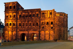 The Porta Nigra, Trier, Germany Stock Images