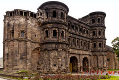Porta Nigra in Trier Royalty Free Stock Photo