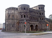 Porta Nigra in Trier Stock Photos