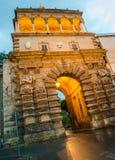 Porta Nuova – πύλη πόλεων στο Παλέρμο, Σικελία Στοκ φωτογραφίες με δικαίωμα ελεύθερης χρήσης
