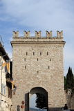 Porta Nuova in Assisi Stock Photography