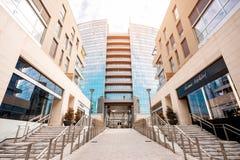Porta Nuova dzielnica biznesu w Mediolan Obraz Royalty Free