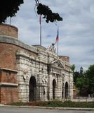 Porta Nuova. Located in Verona, Veneto Stock Photography