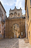 Porta Nuova. Mesagne. Puglia. Italy. Royalty Free Stock Photos