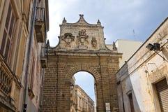Porta Nuova. Mesagne. Puglia. Italy. Stock Photo