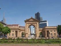 Porta Nuova in Milan Stock Photography