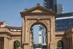 Porta Nuova in Milan Royalty Free Stock Photo