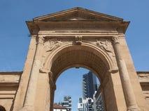 Porta Nuova in Milan Royalty Free Stock Image