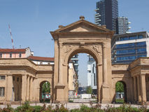 Porta Nuova in Milan Royalty Free Stock Images