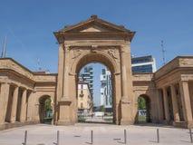 Porta Nuova in Milan Stock Photo