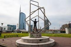 Porta Nuova, Milan, italy Royalty Free Stock Photo