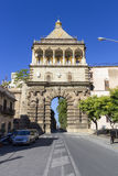 Porta Nuova. In Palermo on a summer afternoon Royalty Free Stock Images