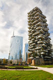 Porta Nuova quarter, Milan, Italy Royalty Free Stock Photo